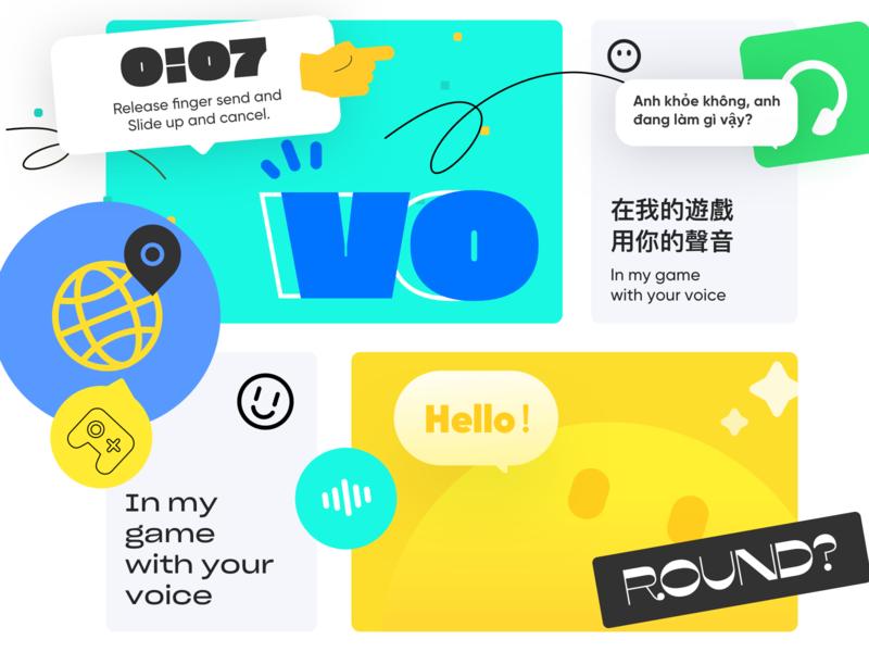 Voga Brand vision 1 branding illustration