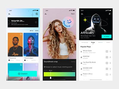 Thumkast 1 app design ux ui