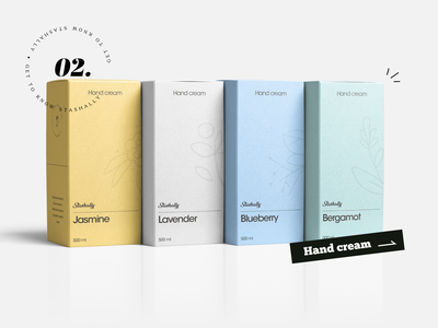 Stashally - Hand cream branding design