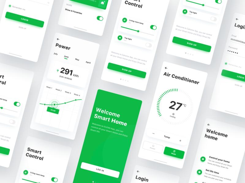 Smart Home3 ux app ui
