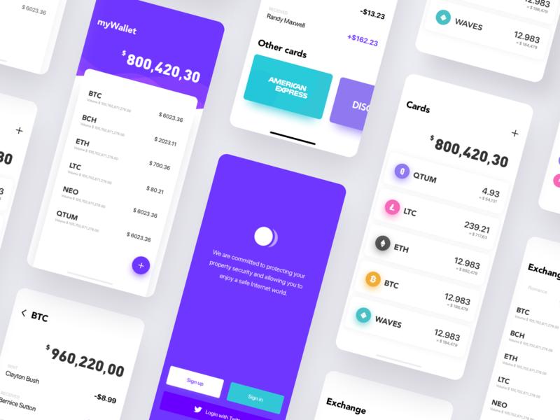 Finance App2 app ux design ui