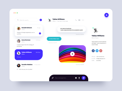 Timely Communication Tool design ux ui
