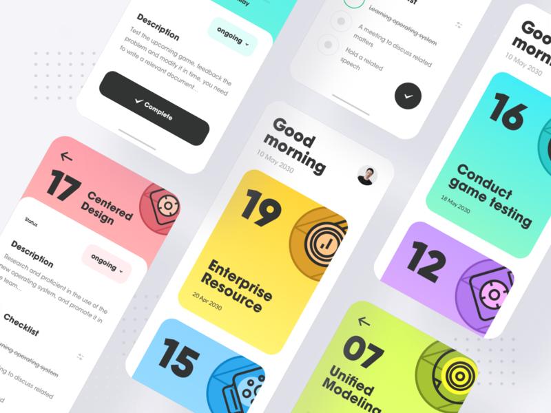 Task list 3 branding illustration design ux ui