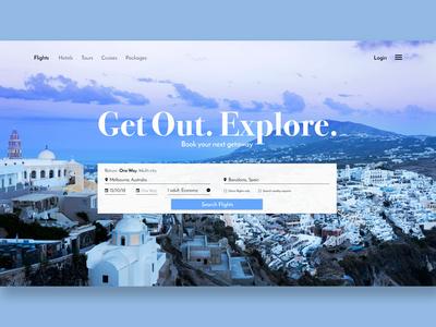 Travel Website / Day 03