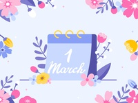 1 MARCH
