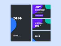 Ads – Ornikar pattern pack motion ads after effects animation
