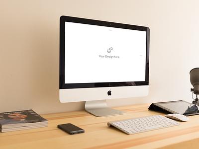 iMac Mockups imac mockup psd device