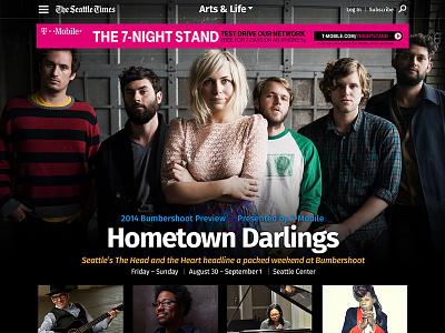 Seattle Times Feature seattle times news website web desktop music entertainment