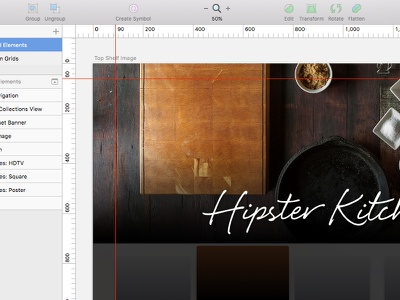 Apple TV UI Kit for Sketch ui kit apple tv sketch tvos