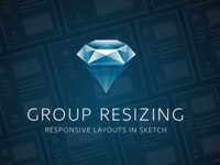 Group Resizing in Sketch 3.9
