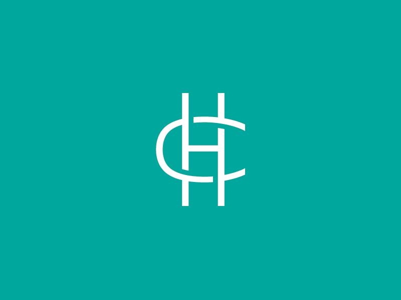 HC Monogram idlewild tungsten monogram mark logo