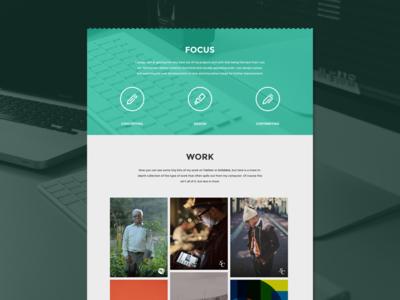 Portfolio Redesign