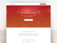 Joining Landing Page