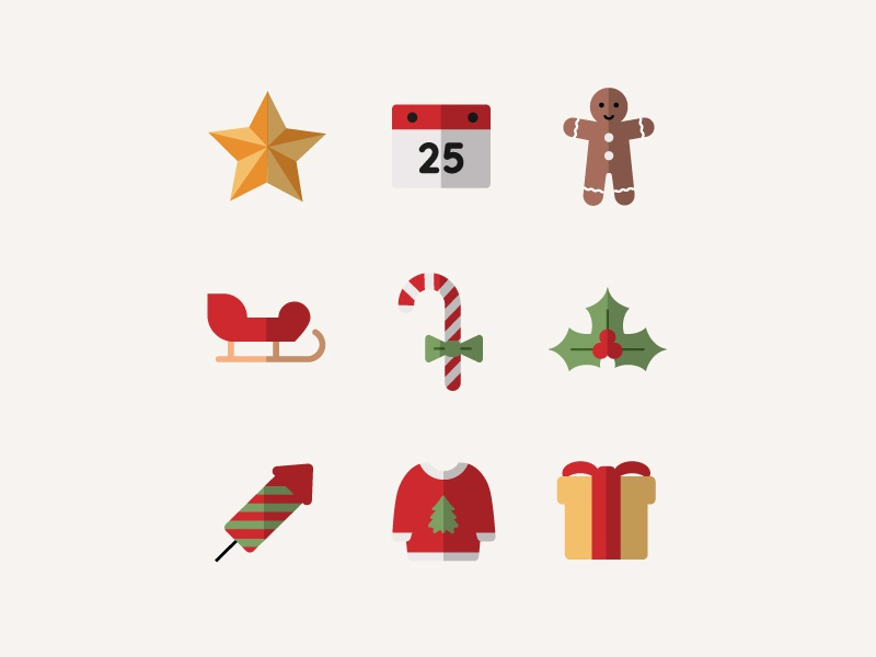 Christmas Iconography.Christmas Is Coming By Mayte Morales On Dribbble