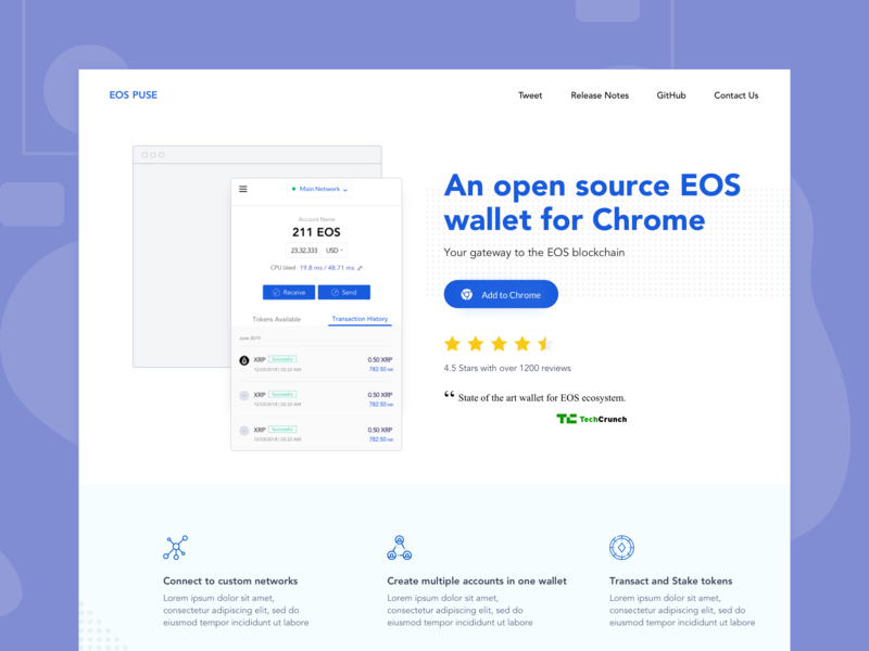 Landing Page - Open source browser extension