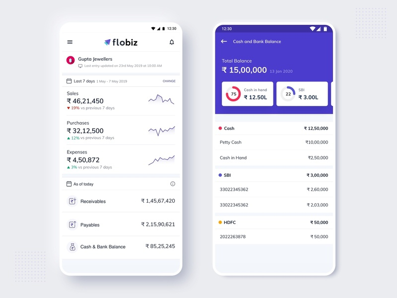 Business Tracking App - FloBiz
