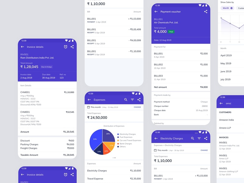 Business Tracking App - Invoice