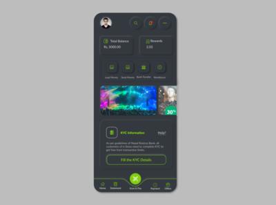 eSewa payment Dark UI