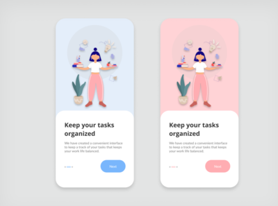 Tasks Manager Onboarding app design onboarding screen onboarding ui ui figma design design