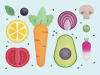 Veggies illustrated