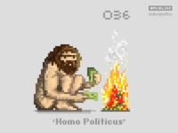 #pixel365 Num. 036: 'Homo Politicus'