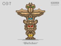 #pixel365 Num. 037: 'Watcher'