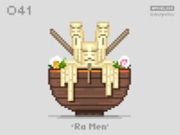 #pixel365 Num. 041: 'Ra Men'