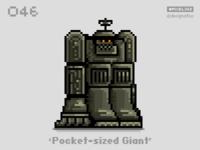 #pixel365 Num. 046: 'Pocket-sized Giant'