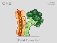 #pixel365 Num. 049: 'Food Pornstar'