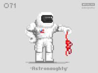 #pixel365 Num. 071: 'Astronaughty'