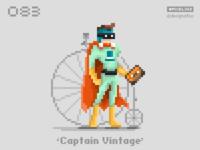 #pixel365 Num. 083: 'Captain Vintage'
