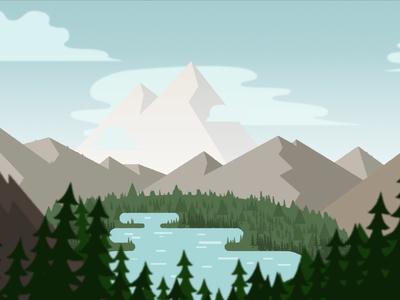 Landscape Style Frame