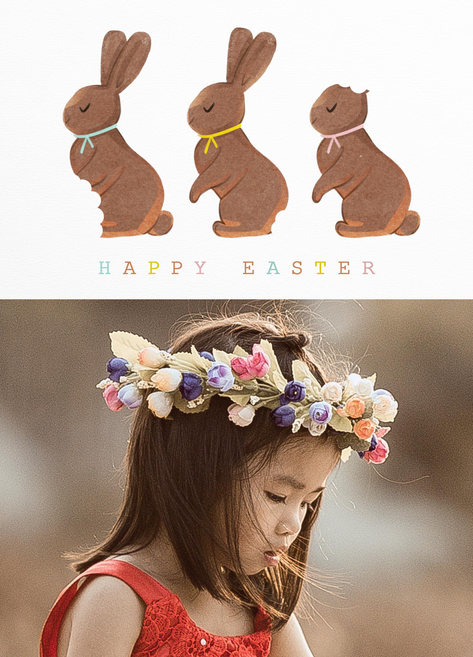 17 easter chocolatebunnies 1 front p