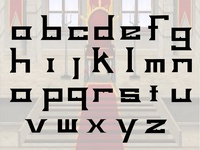 Lower Case King Typeface