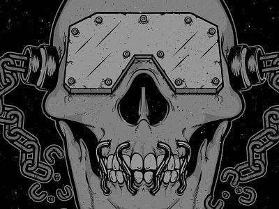 Vic Rattlehead skull shred metal vic rattlehead megadeth
