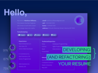 Developing And Refactoring Your Resume