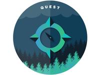 Badge Design for Quest AWS CSA Associate - Cloud Assessments