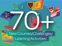 70 New Courses/Challenges/Learning Activities