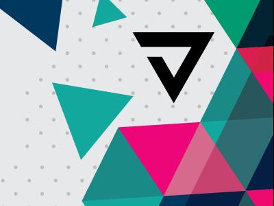 V7 Logo logo brand triangles triangle dots
