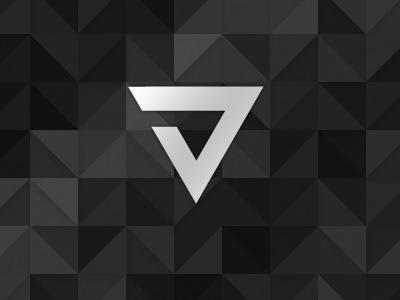 New site header branding triangles black triangle texture monochrome