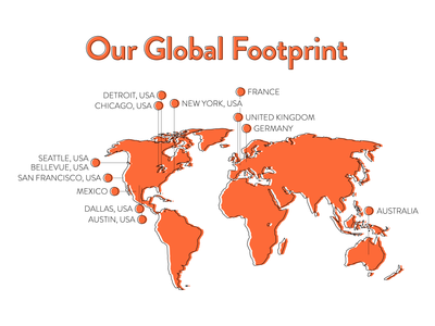 Global Footprint Map