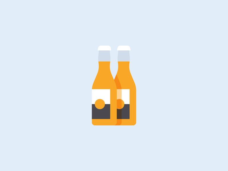 Corona covid19 jk alcohol flat simple beer corona vector design illustration stylized