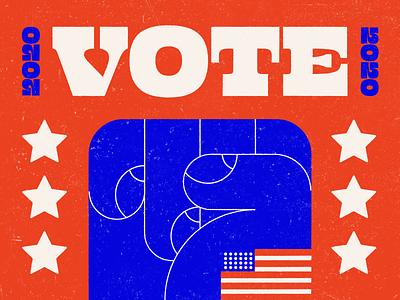 VOTE vote blue president bidenharris please save us voter usa election 2020 vote design illustration stylized