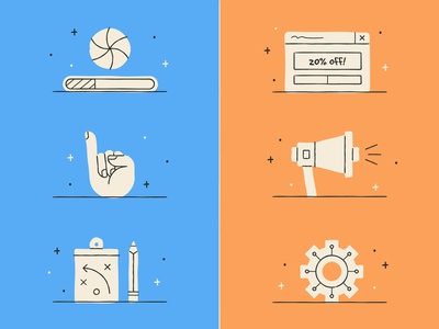 Mobile Optimization Icons