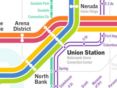 Columbus Transit Map