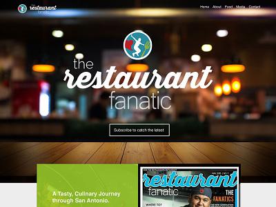 The Restaurant Fanatic Nov. 2019 therestaurantfanatic therestaurantfanatic thepatricklee branding ui design patrick lee zepeda