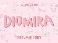 DIOMIRA-DISPLAY FONT
