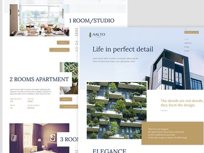 Aalto design web