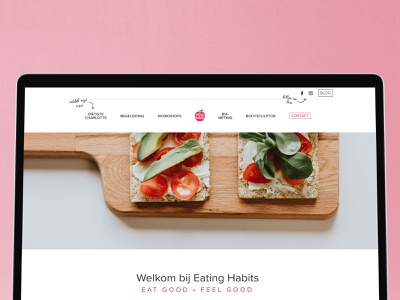 eating habits website design designer website design web development web design webdesign