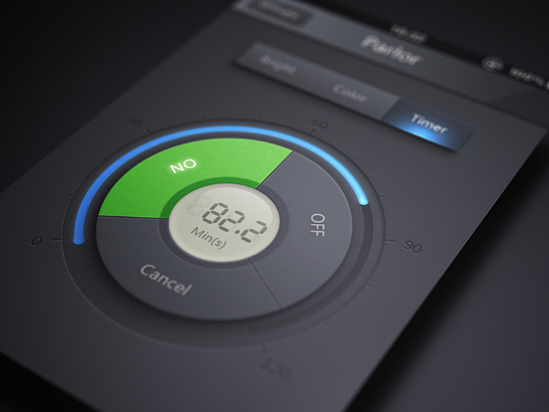 Timer iphone app ui mvben china icon themes